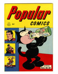 Golden Age (1938-1955):Miscellaneous, Popular Comics #123 (Dell, 1946) Condition: NM....