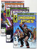 Modern Age (1980-Present):Miscellaneous, The Further Adventures of Indiana Jones #1-19 Group (Marvel, 1982-83) Condition: Average NM.... (Total: 21)