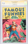 Golden Age (1938-1955):Science Fiction, Famous Funnies #211 Signature Series (Eastern Color, 1954) CGCFN/VF 7.0 Cream to off-white pages....
