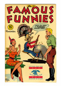 Golden Age (1938-1955):Miscellaneous, Famous Funnies #136 (Eastern Color, 1945) Condition: NM....