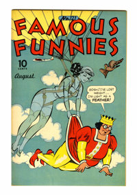 Famous Funnies #121 Rockford pedigree (Eastern Color, 1944) Condition: NM-