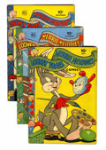 Golden Age (1938-1955):Cartoon Character, Looney Tunes and Merrie Melodies Comics Group (Dell, 1943-47)Condition: Average VG.... (Total: 15 Comic Books)