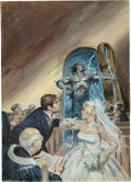Original Comic Art:Covers, Earl Norem Tales of the Zombie #9 Cover Original Art(Marvel, 1975)....