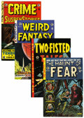 Bronze Age (1970-1979):Horror, EC Classic Reprints Box Lot (East Coast Comix, 1973-74) Condition:Average VF....