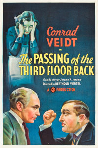 "The Passing of the Third Floor Back (Gaumont, 1935). One Sheet (27"" X 41"")"