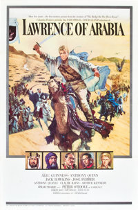 "Lawrence of Arabia (Columbia, 1962). One Sheet (27"" X 41"") Style A"