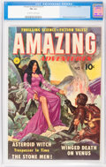 Golden Age (1938-1955):Science Fiction, Amazing Adventures #1 (Ziff-Davis, 1950) CGC FN 6.0 Off-white towhite pages....