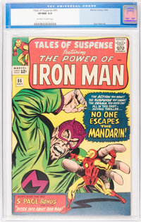 Tales of Suspense #55 (Marvel, 1964) CGC VF/NM 9.0 Off-white to white pages