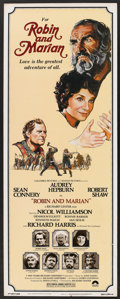 """Movie Posters:Adventure, Robin and Marian (Columbia, 1976). Insert (14"""" X 36""""). Adventure....."""