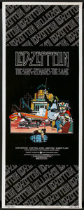 """Movie Posters:Rock and Roll, The Song Remains the Same (Warner Brothers, 1976). Insert (14"""" X36""""). Rock and Roll.. ..."""