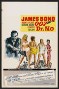 "Movie Posters:James Bond, Dr. No (United Artists, 1962). Belgian (14"" X 21""). James Bond....."