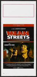 """Movie Posters:Crime, Mean Streets (Warner Brothers, 1973). Italian Locandina (13"""" X27.5""""). Crime.. ..."""