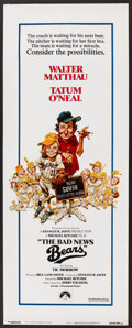 """Movie Posters:Sports, The Bad News Bears (Paramount, 1976). Insert (14"""" X 36""""). Sports.. ..."""