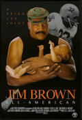 """Movie Posters:Documentary, Jim Brown: All-American (HBO Films, 2002). One Sheet (27"""" X 40"""") SS. Documentary.. ..."""