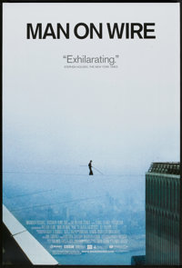 "Man on Wire (Magnolia Pictures, 2008). One Sheet (27"" X 40"") DS. Documentary"