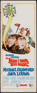 "Movie Posters:Comedy, How I Won the War (United Artists, 1968). Insert (14"" X 36""). Comedy.. ..."
