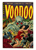 Golden Age (1938-1955):Horror, Voodoo #2 (Farrell, 1952) Condition: FN/VF....