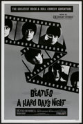 """Movie Posters:Rock and Roll, A Hard Day's Night (Universal, R-1982). One Sheet (27"""" X 41""""). Rock and Roll.. ..."""