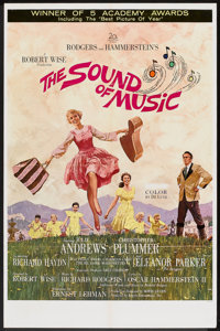 "The Sound of Music (20th Century Fox, 1965). Todd A-O One Sheet (27"" X 41""). Musical"