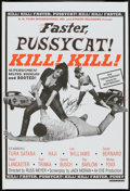 """Movie Posters:Adult, Faster, Pussycat! Kill! Kill! (Strand, R-2000). One Sheet (27"""" X 40"""") Style A. Adult.. ..."""