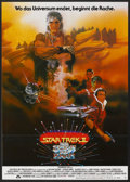 """Movie Posters:Science Fiction, Star Trek II: The Wrath of Khan (Paramount, 1982). German A1 (23"""" X33""""). Science Fiction.. ..."""