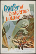 """Movie Posters:Cult Classic, Ghost of Dragstrip Hollow (American International, 1959). One Sheet(27"""" X 41""""). Cult Classic.. ..."""
