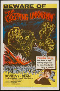 "Movie Posters:Science Fiction, The Creeping Unknown (United Artists, 1956). One Sheet (27"" X 41"").Science Fiction.. ..."