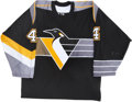 Hockey Collectibles:Uniforms, 2001-02 Brooks Orpik Pittsburgh Penguins Game Worn Jersey. ...