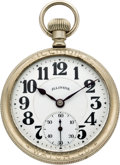 Timepieces:Pocket (post 1900), Illinois Sixty Hour Bunn Special Salesman's Sample, circa 1926. ...