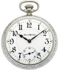 Timepieces:Pocket (post 1900), Illinois 21 Jewel Sangamo, circa 1908. ...