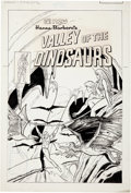 Original Comic Art:Covers, Fred Himes Valley of the Dinosaurs #9 Cover Original Art(Charlton, 1978)....