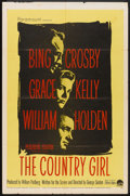 """Movie Posters:Drama, The Country Girl (Paramount, 1954). One Sheet (27"""" X 41""""). Drama.. ..."""