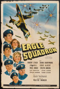 "Movie Posters:War, Eagle Squadron (Universal, 1942). One Sheet (27"" X 41""). War.. ..."