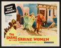 "Movie Posters:Adventure, The Shame of the Sabine Women (United Producers, 1962). Lobby CardSet of 8 (11"" X 14""). Adventure.. ... (Total: 8 Items)"