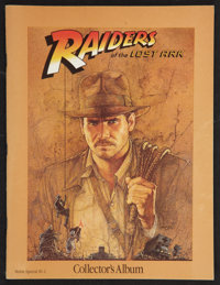 "Raiders of the Lost Ark Lot (Paramount, 1981). Collector's Magazines (5) (8.5"" X 11"") . Adventure. ... (Total:..."