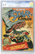 Golden Age (1938-1955):Superhero, All Star Comics #17 (DC, 1943) CGC FN+ 6.5 Off-white to white pages....