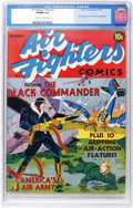 Golden Age (1938-1955):War, Air Fighters Comics #1 (Hillman Fall, 1941) CGC VF/NM 9.0 Off-white to white pages.