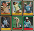 "Golf Cards:General, Donruss ""PGA Tour"" 1981 Complete Set (66) and 1982 Near Set (65/66). ..."