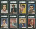 "Non-Sport Cards:Sets, 1953 Topps ""Who-Z-At Star"" Partial Set (66/80) Plus Duplicates. ..."