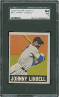 Baseball Cards:Singles (1940-1949), 1948 Leaf Johnny Lindell #82 SGC 84 NM 7....