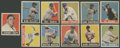 Autographs:Checks, 1948-49 Leaf Baseball Group of (16)....