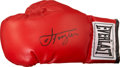Boxing Collectibles:Autographs, Joe Frazier Signed Boxing Glove. ...