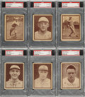 Baseball Cards:Lots, 1931 W517 Baseball PSA-Graded Collection (12) With HoFers!...