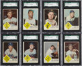 Baseball Cards:Sets, 1963 Fleer Baseball Complete Set (66) Plus Checklist....