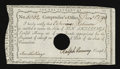 Colonial Notes:Connecticut, Connecticut Interest Certificate Anderson CT-51 Extremely Fine....