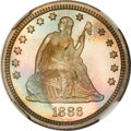 Proof Seated Quarters, 1886 25C PR68 NGC....