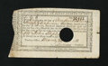Colonial Notes:Connecticut, Connecticut Interest Certificate Anderson CT-46 Very Fine....