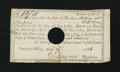 Colonial Notes:Connecticut, Connecticut Interest Certificate Anderson CT-32 Extremely Fine....