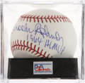 Autographs:Baseballs, Brooks Robinson Single Signed Baseball PSA Mint+ 9.5. ...