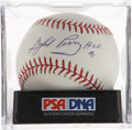 Autographs:Baseballs, Gaylord Perry Single Signed Baseball PSA Mint 9. ...